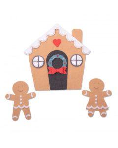 Gingerbread House Bigz Plus Die - Jennifer Ogborn - Sizzix