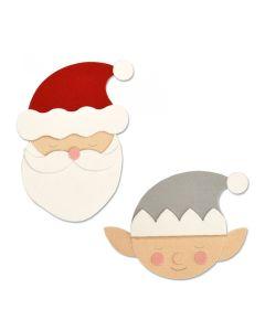 Santa & Elf Bigz Plus Die - Olivia Rose - Sizzix
