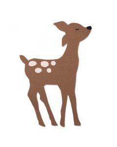 Retro Deer Bigz Plus Die - Olivia Rose - Sizzix