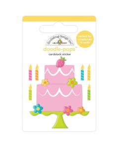 Make A Wish Doodle-Pops 3D Stickers - Hey Cupcake - Doodlebug*