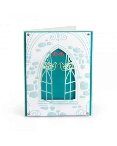 Wedding Window Impresslits Embossing Folder Project