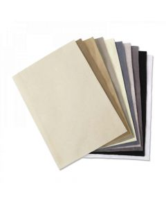 """Neutral Colors 8"""" x 11"""" Felt - Surfacez - Making Essential - Sizzix*"""