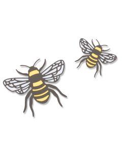 Bee Thinlits Die Set - Lisa Jones - Sizzix*