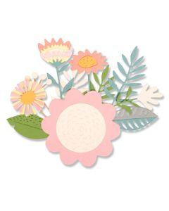 Floral Tropics Thinlits Die Set - Sophie Guilar - Sizzix*
