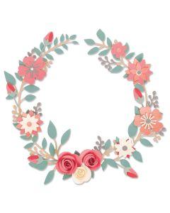 Wedding Wreath Thinlits Die Set - Olivia Rose - Sizzix*