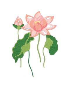 Layered Water Flower Thinlits Die Set - Lisa Jones - Sizzix*