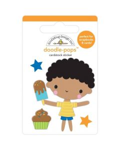 Treat Yourself Doodle-Pops 3D Stickers - Party Time - Doodlebug*