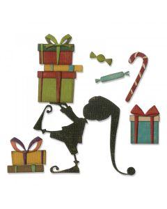 Santa's Helper Thinlits Die Set - Tim Holtz - Sizzix