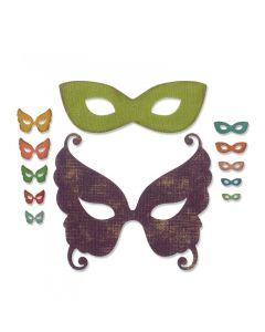 Masquerade Thinlits Die Set - Tim Holtz - Sizzix