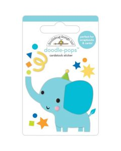 Tons of Fun Doodle-Pops 3D Stickers - Party Time - Doodlebug*