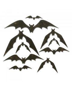 Bat Crazy Thinlits Die Set - Tim Holtz - Sizzix