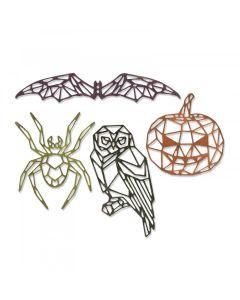 Geo Halloween Thinlits Die Set - Tim Holtz - Sizzix