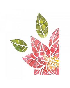 Poinsettia Pieces Thinlits Die Set - Tim Holtz - Sizzix