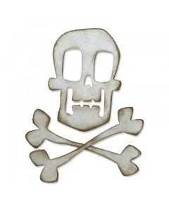 Skull & Crossbones Bigz Die - Tim Holtz - Sizzix