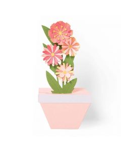 Pop-Up Plant Pot Thinlits Dies - Georgie Evans - Sizzix *