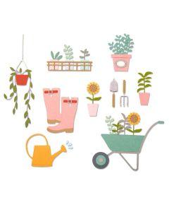 Garden Shed Thinlits Dies - Sophie Guilar - Sizzix *