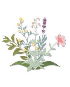 Spring Stems Thinlits Dies - Olivia Rose - Sizzix *