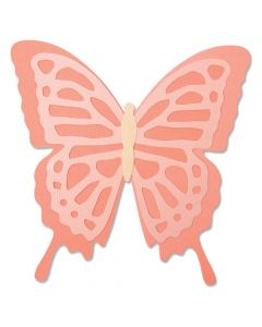 Layered Butterfly Bigz Die - Jessica Scott - Sizzix *