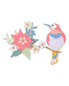 Bird Scene Thinlits Dies - Jenna Rushforth - Sizzix *