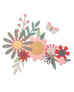 Bold Flora Thinlits Dies - Sophie Guilar - Sizzix *
