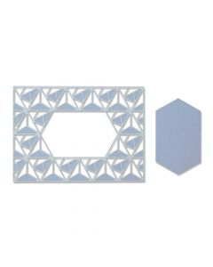 Geo Lattice Frame Thinlits Dies - Jessica Scott - Sizzix *