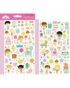 Hey Cupcake Mini Icons Sticker - Doodlebug*