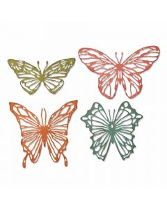 Scribbly Butterflies Thinlits Dies - Tim Holtz - Sizzix *