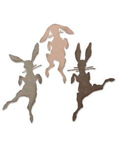 Bunny Hop Thinlits Dies - Tim Holtz - Sizzix *