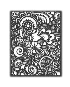 Doodle Art #2 Thinlits Die - Tim Holtz - Sizzix*