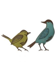 Feathered Friends Thinlits Die Set - Tim Holtz - Sizzix*