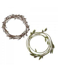Funky Wreath Thinlits Die Set - Tim Holtz - Sizzix*