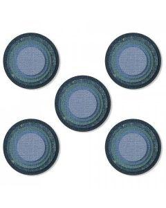 Stacked Tiles Circles Thinlits Die Set - Tim Holtz - Sizzix*