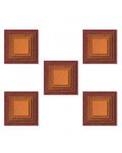 Stacked Tiles Squares Thinlits Die Set - Tim Holtz - Sizzix*