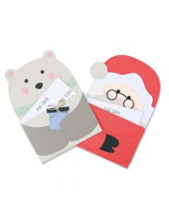 Santa's Letter Thinlits Dies - Yasmin Rowlands - Sizzix