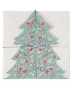Christmas Tree Card Thinlits Dies - Lisa Jones - Sizzix