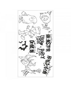 Fright Night! Clear Stamps - Pete Hughes - Sizzix*