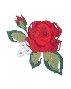Layered Rose Thinlits Dies - Lisa Jones - Sizzix*