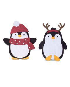 Penguin Friends Bigz Die - Olivia Rose - Sizzix*