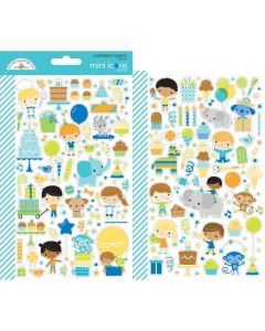 Party Time Mini Icons Stickers - Doodlebug*