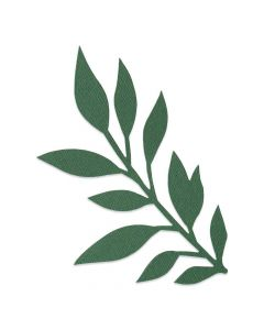 Gathered Leaves Bigz Die - Jen Long - Sizzix*