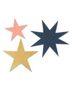 Winter Stars Bigz Die - Olivia Rose - Sizzix*