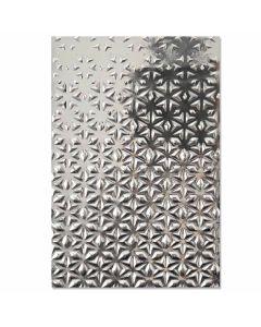 Star Fall 3-D Textured Impressions Embossing Folder - Georgie Evans - Sizzix*