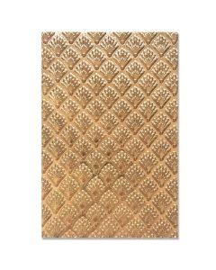 Shells 3-D Textured Impressions Embossing Folder - Jessica Scott - Sizzix
