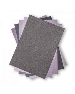 "Charcoal Opulent 8"" x 11"" Cardstock - Surfacez - Sizzix*"