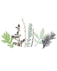 Hidden Leaves Thinlits Dies - Sophie Guilar - Sizzix