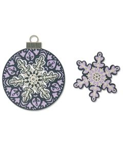 Layered Snowflake Thinlits Dies - Jessica Scott - Sizzix
