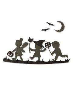 Halloween Silhouettes Thinlits Dies - Lisa Jones - Sizzix