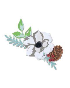 Layered Winter Flower Thinlits Dies - Lisa Jones - Sizzix