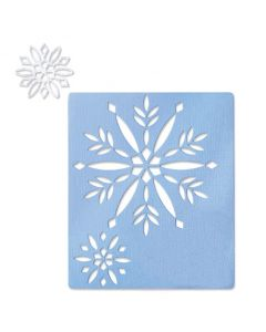 Cut-Out Snowflakes Thinlits Dies - Sizzix