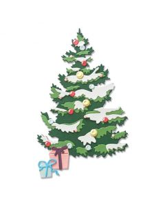 Layered Christmas Tree Thinlits Dies - Sizzix